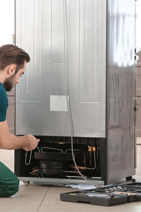 Repairing Refrigerator